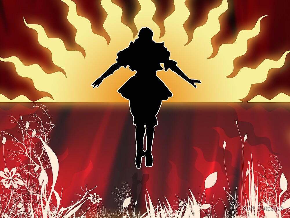 The dancer by Kurt  Tutschek