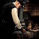 A Blacksmith at work by Samantha Cole-Surjan