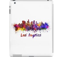 Los Angeles skyline in watercolor iPad Case/Skin