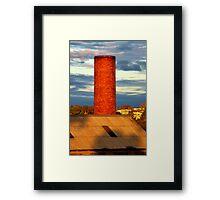 """The Stack"" Framed Print"
