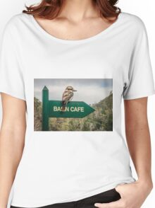 Cataract Gorge Kookaburra Women's Relaxed Fit T-Shirt