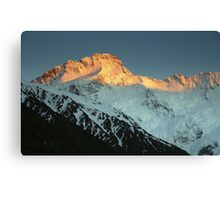 In the Hall of the Mountain King- Mount Sefton at Dawn Canvas Print