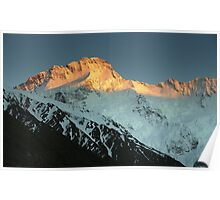 In the Hall of the Mountain King- Mount Sefton at Dawn Poster