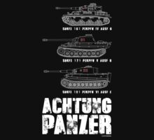 ACHTUNG PANZER by PARAJUMPER