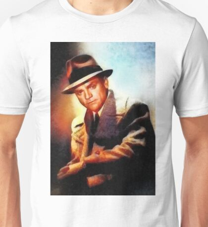James Cagney, Vintage Hollywood Legend Unisex T-Shirt