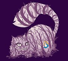 Inside wonderland (cheshire cat) by Harantula