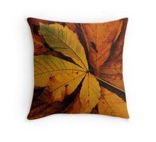 Autumn's Fallen Throw Pillow