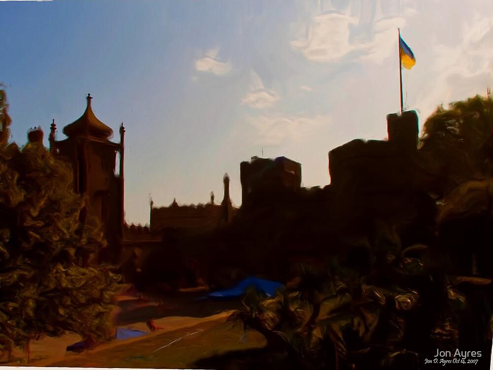 Alupka Palace At Last! by Jon Ayres