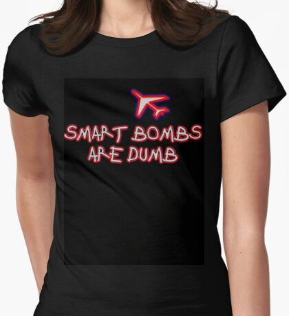 Smart Bombs Womens Fitted T-Shirt