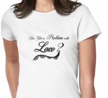 Lace up Womens Fitted T-Shirt