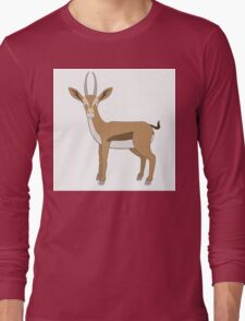 Cute cartoon gazelle Long Sleeve T-Shirt