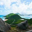 DIVIDER - ST KITTS BETWEEN THE ATLANTIC AND THE CARIBBEAN (CARD) by Thomas Barker-Detwiler