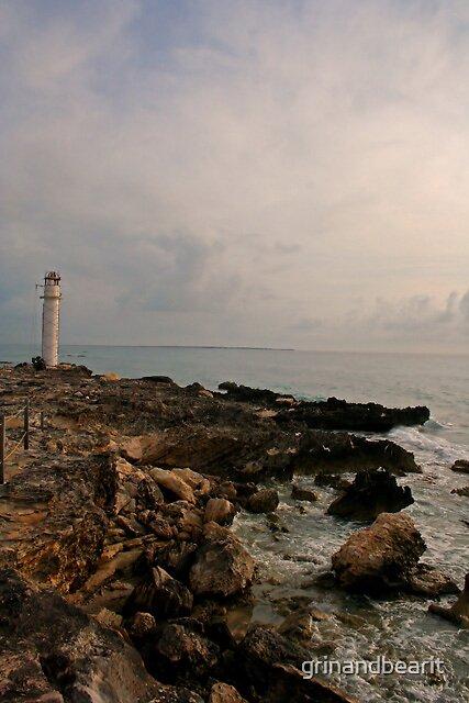 Broken Lighthouse by grinandbearit