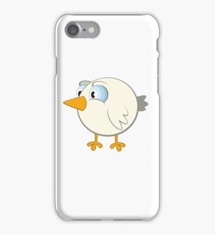 Funny cartoon bird iPhone Case/Skin