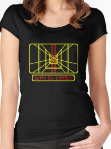 Stay on Target Women's Fitted Scoop T-Shirt