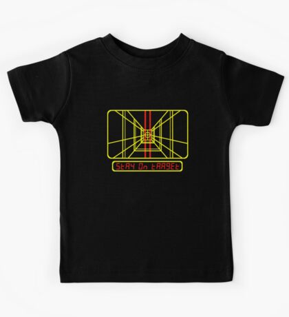 Stay on Target Kids Tee