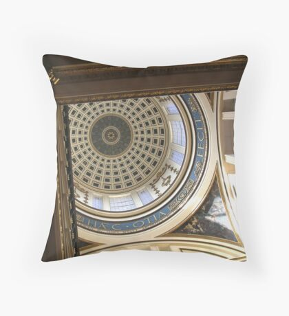 Liverpool Council House Dome Throw Pillow