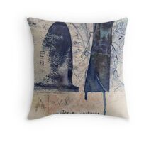 And Afterwards Silence Throw Pillow