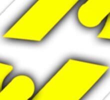 DayZ - Yellow Chain Desync Sticker