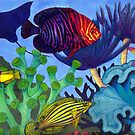 Undersea Life in the Caribbean by Carolyn  McFann