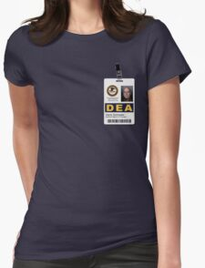 Special Agent in Charge V2 Womens Fitted T-Shirt