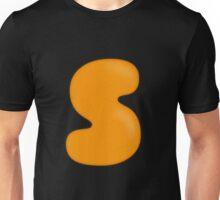 Glitch Overlay letter S overlay Unisex T-Shirt