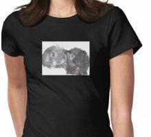 Guinea Pig Friends Womens Fitted T-Shirt