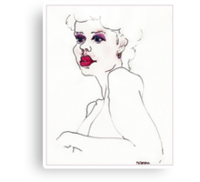 """Pink Lady"" Canvas Print"