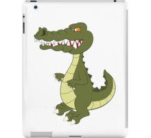 Funny cartoon crocodile iPad Case/Skin