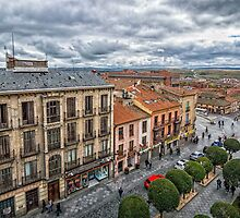 San Segundo street, Avila by JJFarquitectos