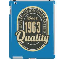 Satisfaction Guaranteed  Best  1963 Quality iPad Case/Skin