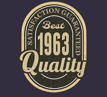 Satisfaction Guaranteed  Best  1963 Quality Hoodie