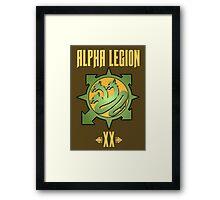 Alpha Legion XX - Warhammer Framed Print