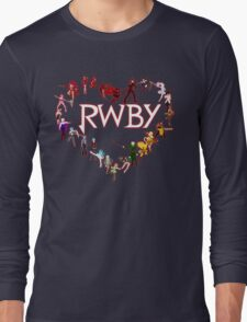 To RWBY With Love Long Sleeve T-Shirt