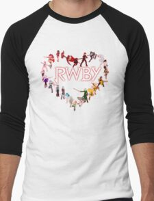 To RWBY With Love Men's Baseball ¾ T-Shirt