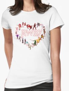 To RWBY With Love Womens Fitted T-Shirt