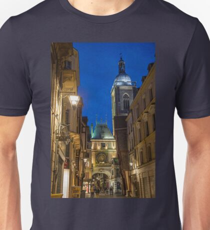 France. Normandy. Rouen. The Great Clock at Night. T-Shirt