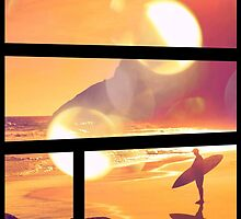 Dreaming of Sunset Surfing by papabuju