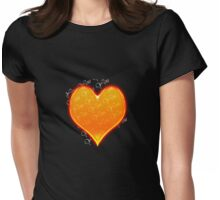 You are all over my heart! Womens Fitted T-Shirt