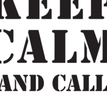KEEP CALM AND CALL THE 173RD Sticker
