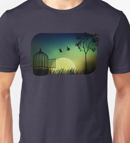 released to moonlight iLL Unisex T-Shirt