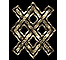Gungnir, Odin's spear, Rune Gar, Viking, Magic, Protectiv Symbol Photographic Print