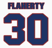 National Hockey player Wade Flaherty jersey 30 by imsport