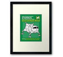 Starbug Service and Repair Manual Framed Print