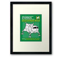 Starbug Service and Repair Manual Framed Print