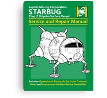 Starbug Service and Repair Manual Canvas Print