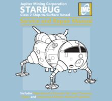 Starbug Service and Repair Manual One Piece - Short Sleeve