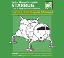 Starbug Service and Repair Manual Kids Tee