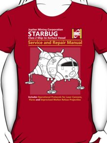 Starbug Service and Repair Manual T-Shirt