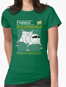 Starbug Service and Repair Manual Womens Fitted T-Shirt